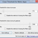 Change Metro Apps Closing Behavior With Close Threshold For Metro Apps Tool