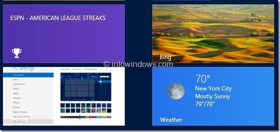 Customize Start Screen In Windows 8 Step5