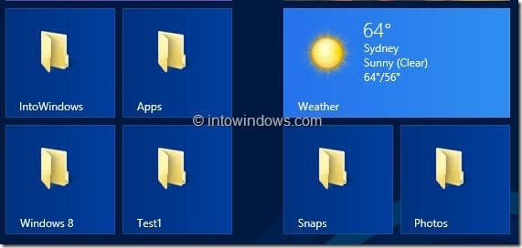 Customize Start Screen In Windows 8 Step6