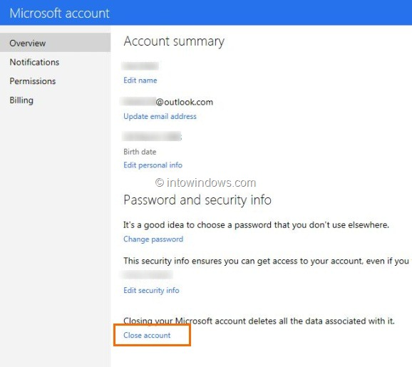 How To Close & Delete Outlook.com Account