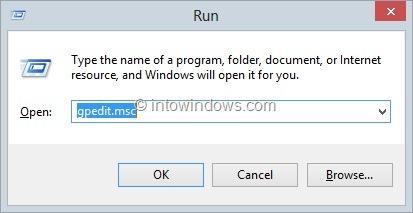 Disable Lock Screen Windows 8 Step3