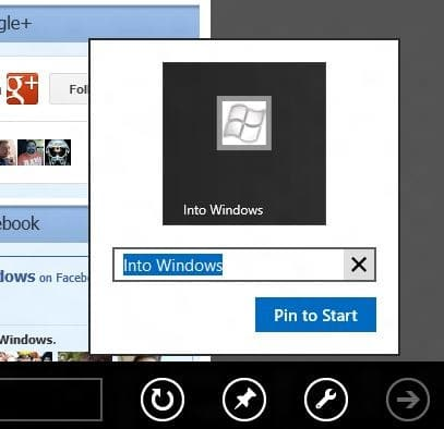 Pin Web Pages To Start Screen In Windows 8 Picture2