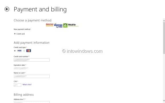 Purchase Apps From Store In Windows 8