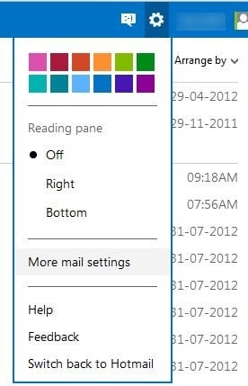 hotmail konto outlook