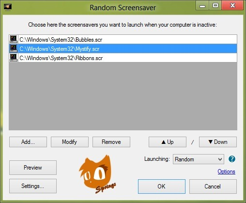 Rotate Windows Screen Savers pic3
