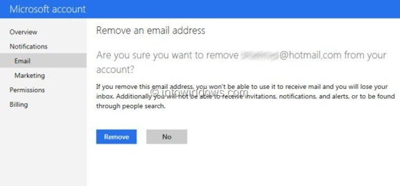 Switch Back From Outlook.com To Hotmail or Live Step3