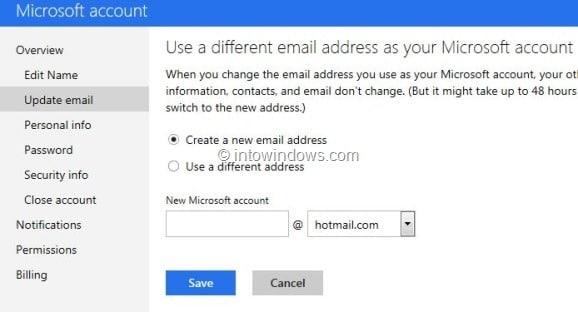 Switch Back From Outlook.com To Hotmail or Live Step5