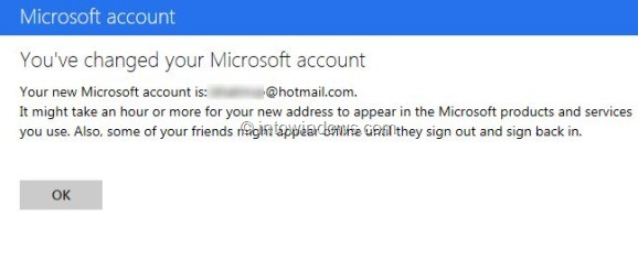 Switch Back From Outlook.com To Hotmail or Live Step6