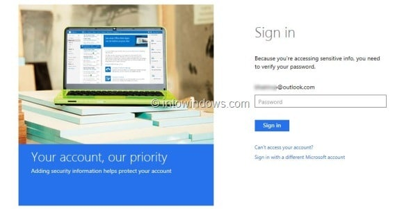 Switch Back From Outlook.com To Hotmail or Live