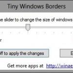 Change Window Border Size In Windows 8 With Tiny Window Borders