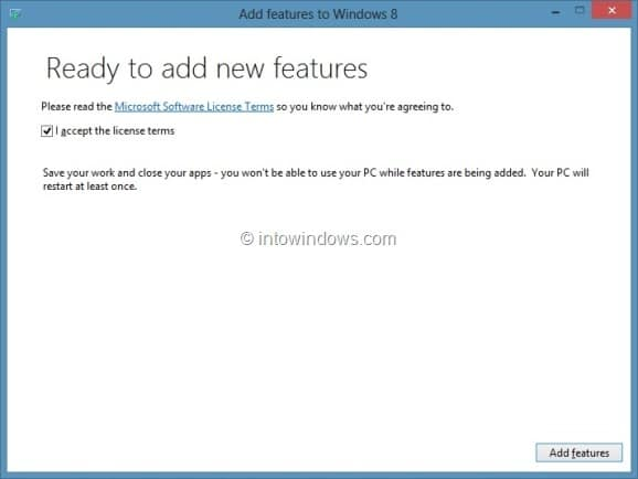 Upgrade Windows 8 To Windows 8 Pro Step4