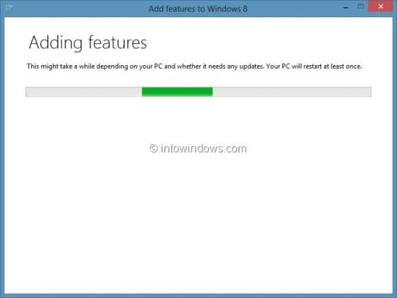 Upgrade Windows 8 To Windows 8 Pro Step5