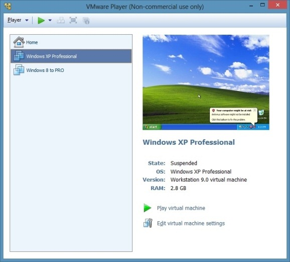 Download VMware Player Free For Windows 10/8