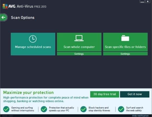antivirus protection for pc windows 8