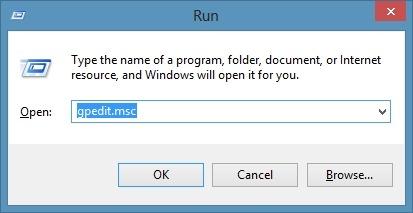 Disable Windows 8 Animation Step1