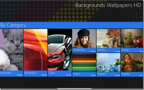 HD wallpapers for Windows 8