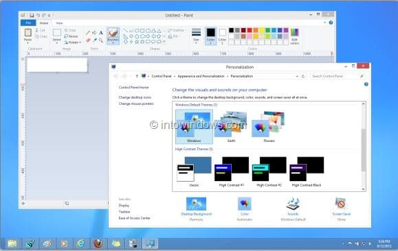 Set Different Colors for Taskbar and Window Border in Windows 8 Step5