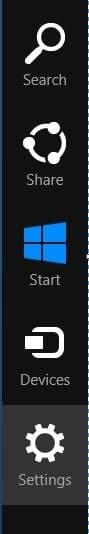 Sync In Windows 8 Step1