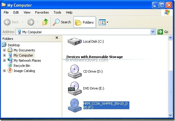 Upgrade XP To Windows 8 Step1