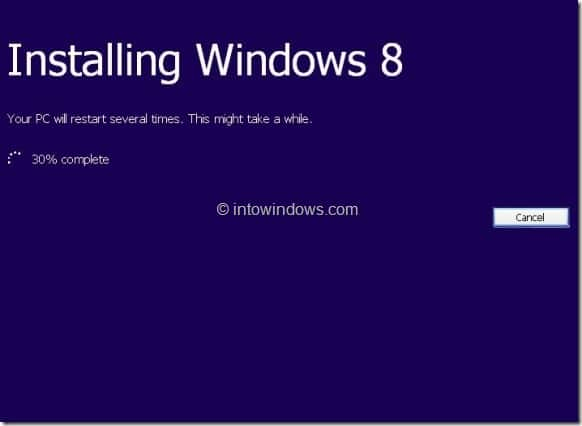 Upgrade XP To Windows 8 Step8