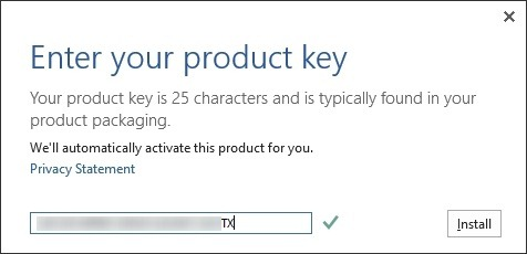 Activate Office 2013 Step2