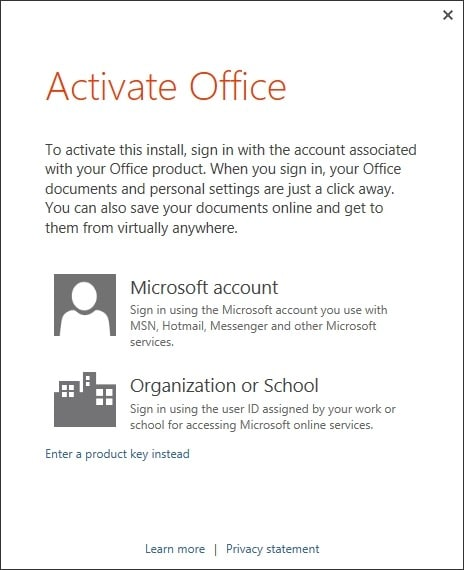 office 2013 product id to product key