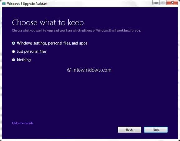 Buy Windows 8 Upgrade Key Step1