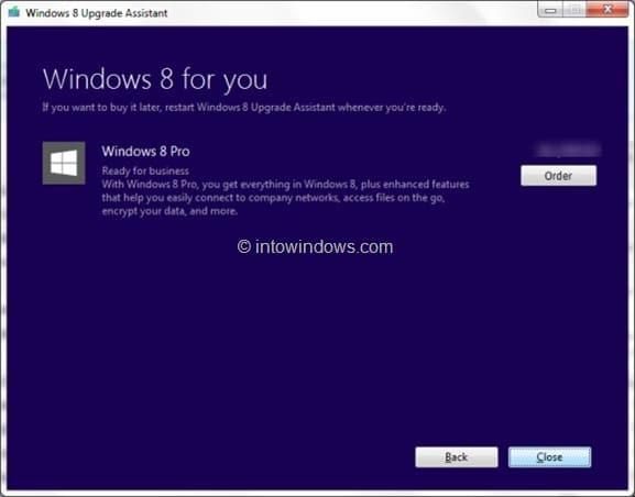 Buy Windows 8 Upgrade Key Step2