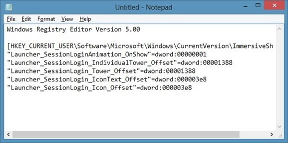 Enable Start Screen Animation In Windows 8