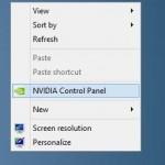 Fix: NVIDIA Control Panel Missing From Desktop Context Menu