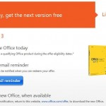 Office 2013 Free Upgrade Offer