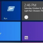 How To Pin Run Command To Start Screen In Windows 8