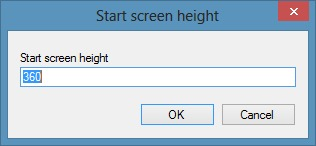 Reduce Start Screen Size In Windows
