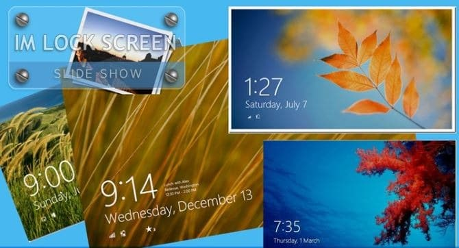 how to change lock screen picture windows 8