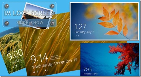 Rotate Windows 8 Lock Screen Pictures