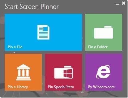 Start Screen Pinner