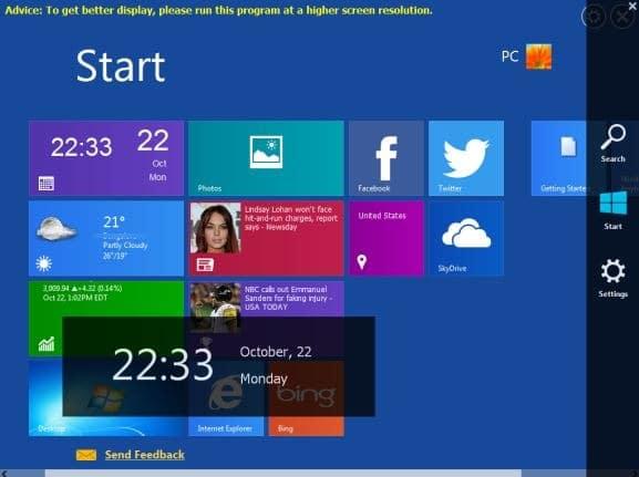 WinMetro for Windows