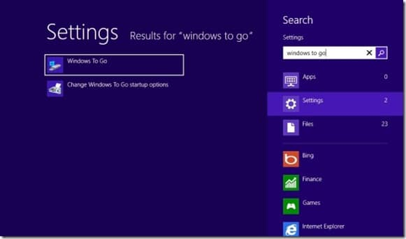 How To Create Windows To Go In Windows 8 Enterprise
