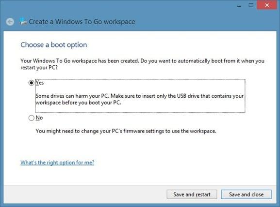Windows To Go 9