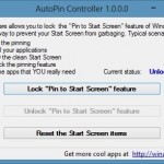 Disable Start Screen Pinning Feature In Windows 8