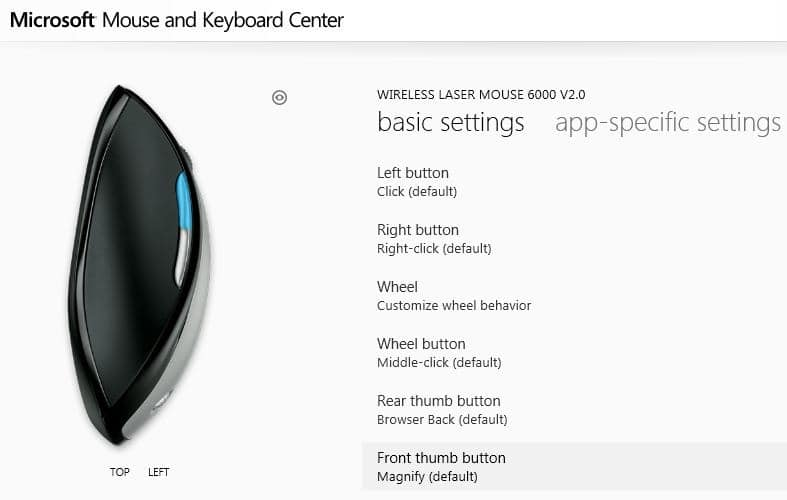 Download Microsoft Mouse And Keyboard Center For Windows 7