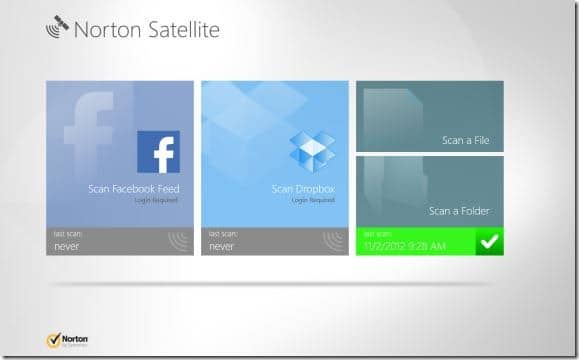 Symantec Corporation has now released a free app named Norton Satellite for Windows  Norton Satellite: Free App To Scan Facebook Feed  Dropbox Account