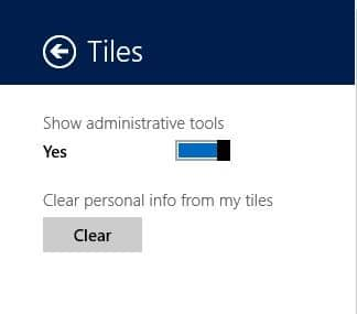 Pin Admin Tools To The Start Screen Windows 8