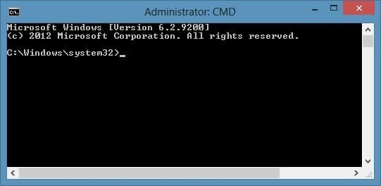 how to create command promt shortcut for a specific folder