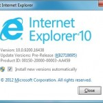 How To Uninstall IE 10