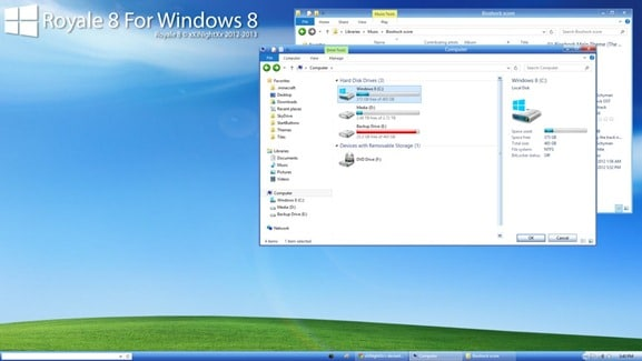Windows XP Royale Theme for Windows 8