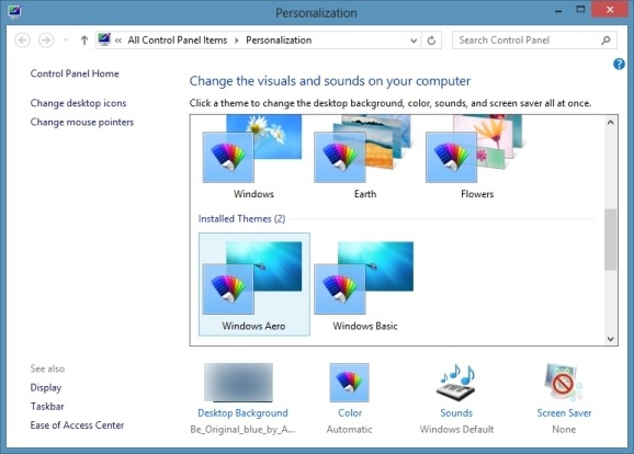 Aero Theme for Windows 8 Picture1