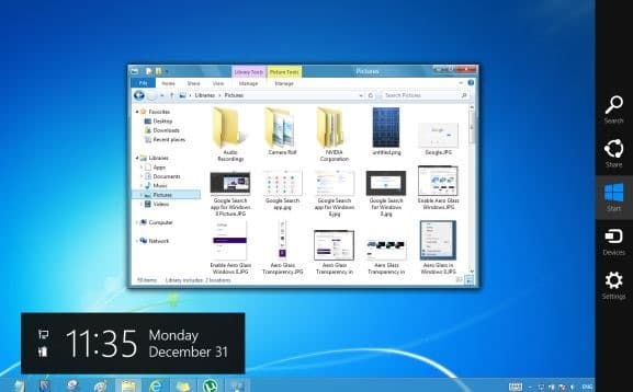 Aero for Windows 8