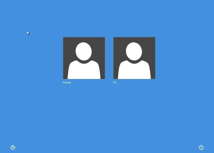 Change Windows 8 logon screen color