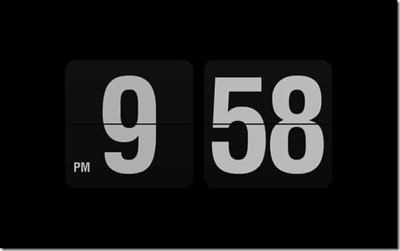 Fliqlo Clock Screen Saver For Windows 8